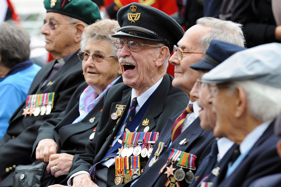 Falklands and Second World War veterans