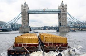 Waterborne freight