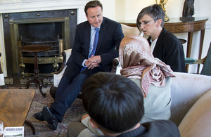 The Prime Minister meets survivors of the Srebrenica genocide