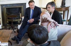 The Prime Minister meets survivors of the Srebrenica genocide