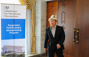 DFID supports strengthening of the Kyrgyz Parliament