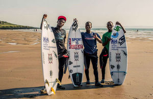 SA Surfers in the UK