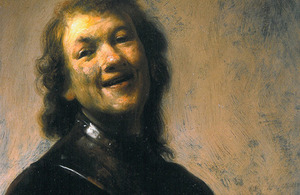 "The ""Laughing Rembrandt"""