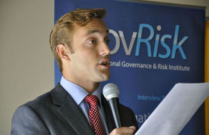 Foto referencial de un evento con Gov Risk
