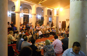 British Embassy Staff Enjoy Ramadan Iftar at Sheik Mohammed Centre for Cultural Understanding