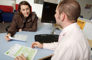 Number of people claiming Jobseeker's Allowance falls across the UK