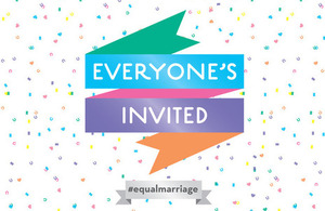 Equal Marriage graphic