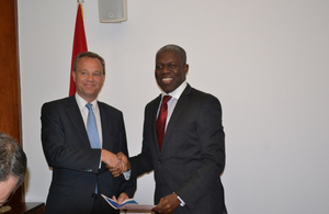 UK Minister for Africa meets with Ghana's Vice President