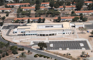 The medical centre at RAF Akrotiri in Cyprus [Picture: Senior Aircraftman Dave Vine, Crown copyright]