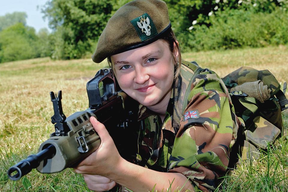 Cadet Molly Powell