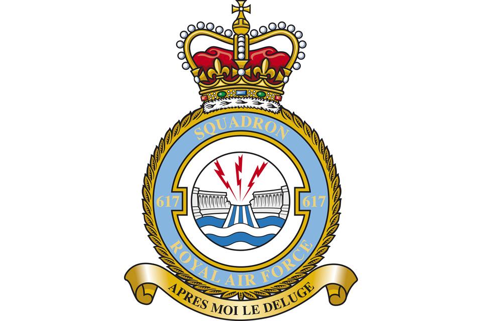617 Squadron badge (stock image)