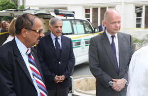 Foreign Secretary visits UK-supported mobile forensic lab in Lahore to witness British assistance for Pakistani authorities' fight against terrorism