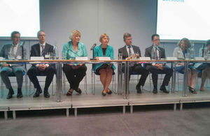HMRC leaders at the first annual conference for key HMRC stakeholders (© Crown copyright)