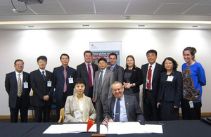 Chinese delegators to the UK discuss with British companies about cooperation and expand their vision in Life Sciences development.