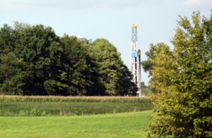 Shale well