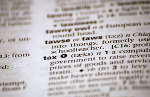 Definition of tax in dictionary