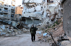 Aleppo, Karm al Jabal. This neighborhood is next to Al Bab and has been under siege for 6 months, 4 March 2013. Credit: Basma