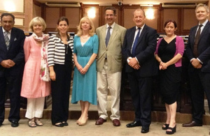 Six British Parliamentarians visited Maldives