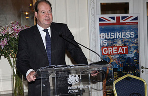Shipping Minister Stephen Hammond MP