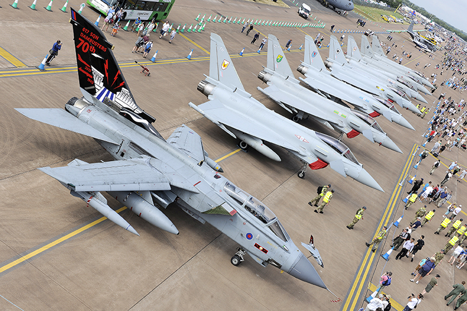 Raf At World S Largest Air Show News Stories Gov Uk