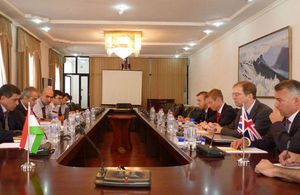 Double Taxation Agreement negotiations between the UK and Tajikistan