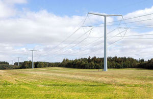 T-pylon; photo courtesy of National Grid