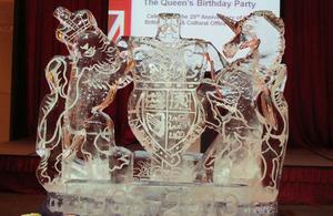 英國女王伊莉莎白二世華誕暨英國貿易文化辦事處在台成立二十週年慶祝酒會