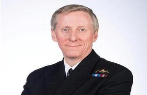 Vice Admiral Ian Corder