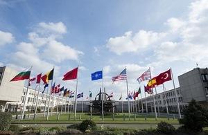 NATO HQ entrance