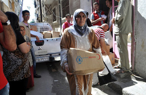 Aid reaching those in need inside Syria