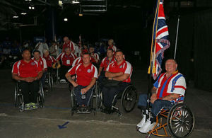 British veterans participate in national Wheelchair Games in Tampa, Florida.