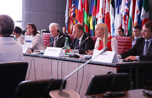 FCO experts presenting to OSCE Forum for Security Co-operation