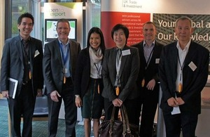 UKTI selected three delegates from Thailand to attend the Future of Wireless International Conference (FWIC) in Cambridge