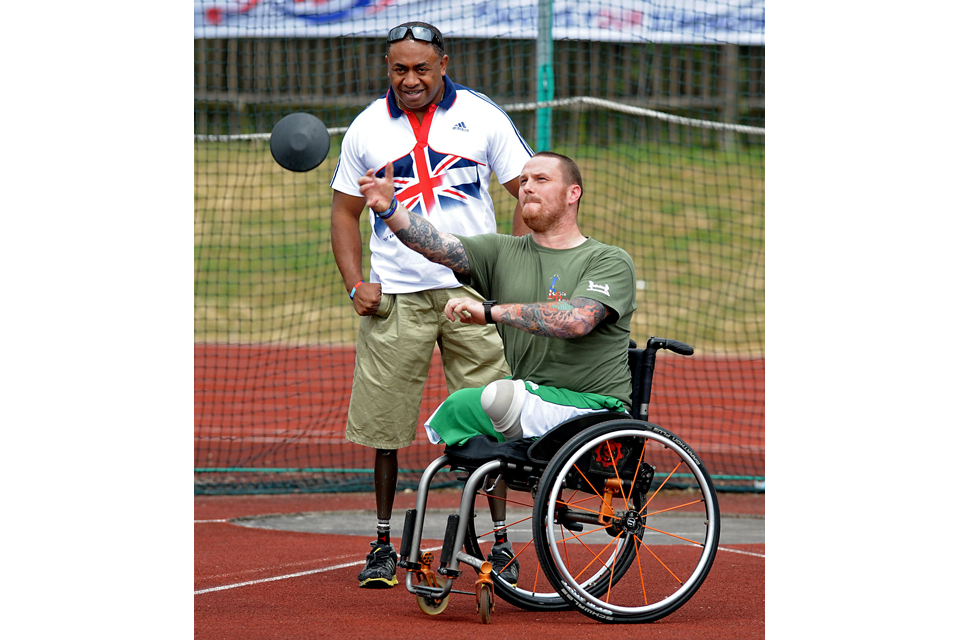 Lance Corporal Derek Derenalagi and Sapper Clive Smith