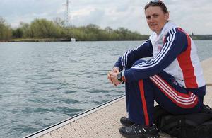 Captain Heather Stanning, Royal Artillery