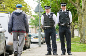 Home Secretary extends consultation on stop and search