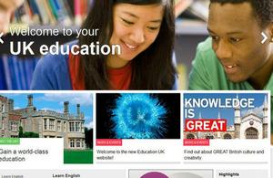 New Education UK website