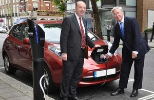 Business Minister Michael Fallon and Transport Minister Norman Baker