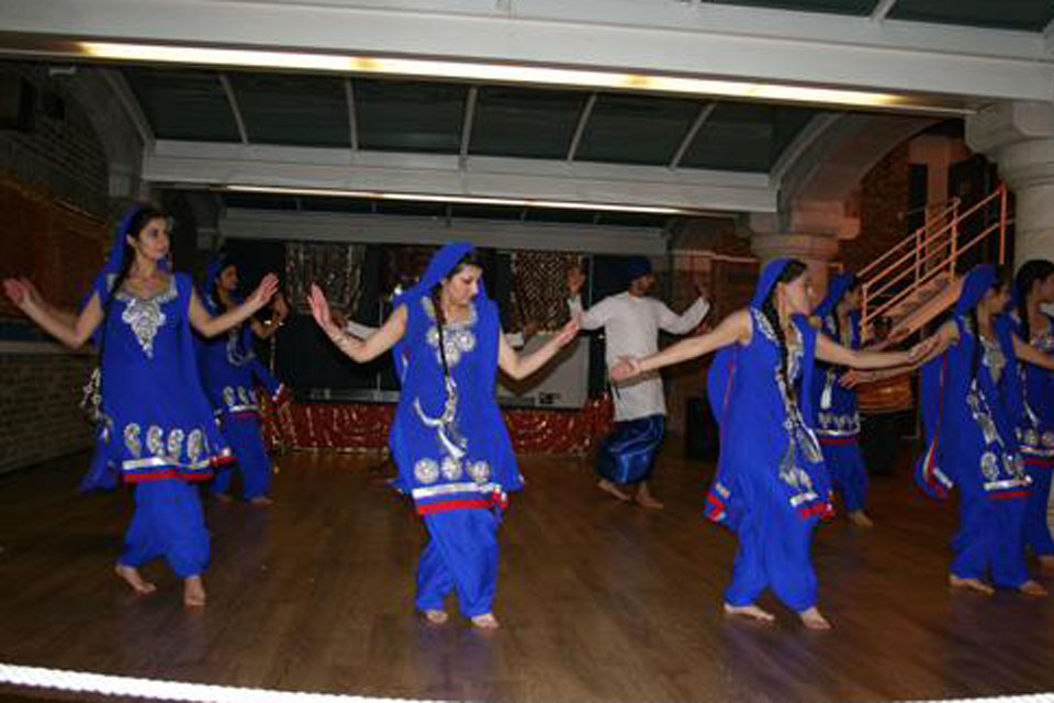 The Bhangra Dancers of 1846 (Southall) Air Cadet Squadron