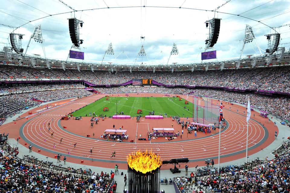 Olimpinis stadionas. Nuotrauka: Martin Rickett / PA Wire