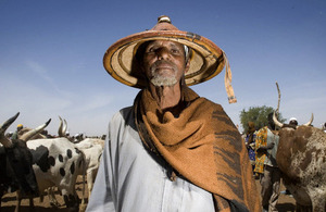 Fulani cattle herder, West Africa