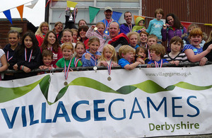 Derbyshire Village Games project