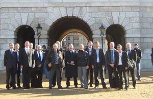 Tranche 2 Horse Guards bidders visit