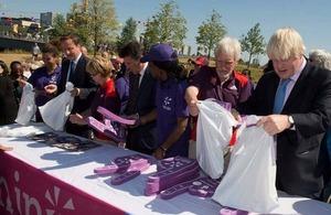 倫敦奧運和殘障奧運為英國經濟帶來99億英鎊的貿易和投資利益