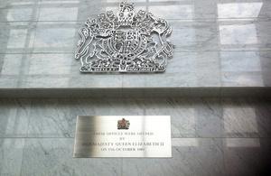 Plaque of British High Commission Kuala Lumpur