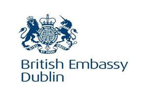British Embassy Dublin crest
