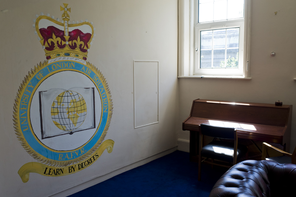University of London Air Squadron crest