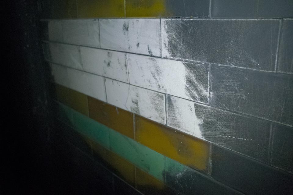 Original station tiles
