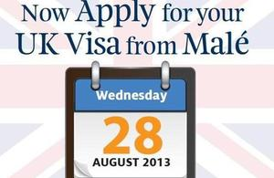 Maldivian applicants will be able to apply for their UK student visas and other eligible categories of visas from the ease and convenience of Malé.
