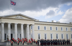The Territorial Army Consolidated Course Commissioning Parade held at the Royal Military Academy Sandhurst [Picture: Sergeant Brian Gamble, Crown copyright]